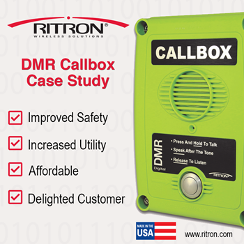 DMR Callbox Increases Employee Safety