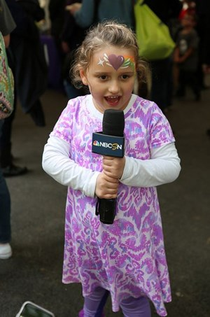 Kiddo Julia answers a few questions from MSNBC